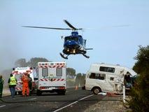 Evacuación de la emergencia Imagen de archivo libre de regalías