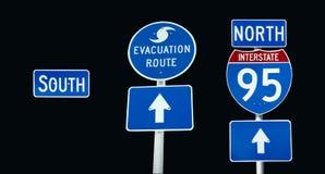 Evacuamento da uno stato all'altro 95 Immagini Stock Libere da Diritti