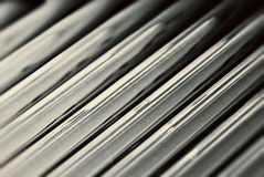 Evacuated Glass Tubes from Solar Water Heater Stock Photo