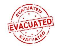 Evacuated Stock Image