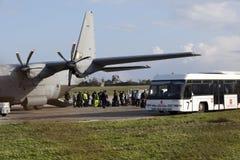 Evacuation Stock Image
