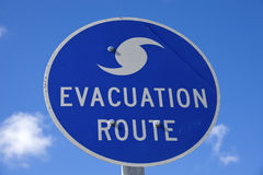 Evacuation Route Royalty Free Stock Photos