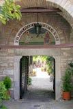 Evaggelistria Monastery, Skaithos. Royalty Free Stock Image