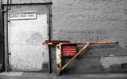Evakuierungsstraße Lizenzfreies Stockfoto