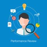 Evaluación del rendimiento del empleado Imagenes de archivo