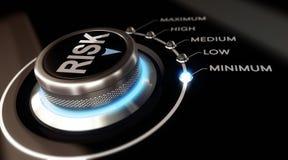 Evaluación de riesgos Imagen de archivo libre de regalías