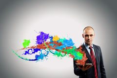Evaluate color expression Royalty Free Stock Photography