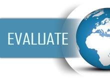 Evaluate Stock Photo