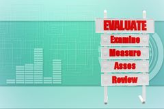 Evaluate Examine Measure Asses Review Stock Images