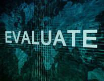 Evaluate Stock Image