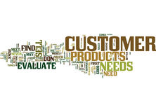 Evaluate Your Customer Text Background  Word Cloud Concept Royalty Free Stock Photos