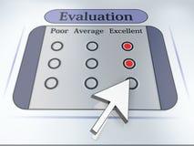 Evaluatie Stock Foto's
