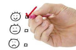 Evaluation form Stock Photos