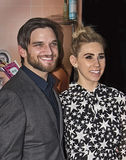 Evan Jonigkeit and Zosia Mamet Stock Photos