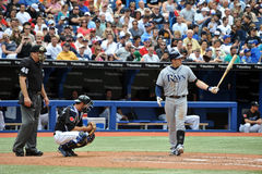 Evan Longoria of the Tampa Bay Rays Royalty Free Stock Photos