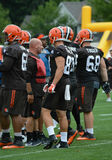 Evan Marcus Cleveland Browns Training Camp 2016 Fotografia Stock Libera da Diritti