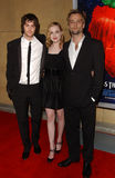 Evan Rachel Wood, Jim Sturgess, Joe Anderson Royalty Free Stock Photography