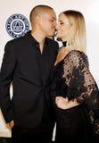 Evan Ross and Ashlee Simpson Stock Photo