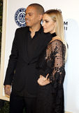 Evan Ross and Ashlee Simpson Royalty Free Stock Photo