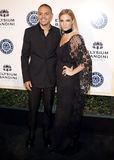Evan Ross and Ashlee Simpson Royalty Free Stock Photos