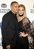 Evan Ross and Ashlee Simpson Royalty Free Stock Image