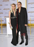 Evan Ross & Ashlee Simpson Stock Photos