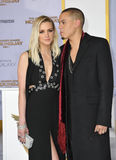 Evan Ross & Ashlee Simpson Stock Photography