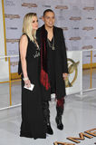 Evan Ross & Ashlee Simpson Royalty Free Stock Image