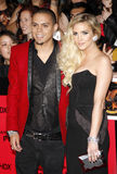 Evan Ross and Ashlee Simpson Royalty Free Stock Images