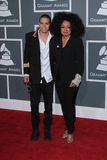 Evan Ross, Diana Ross Stock Foto's