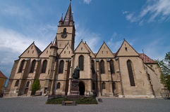The evangelic church Stock Image