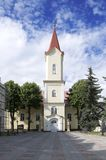 Evangelic church, Liptovsky Mikulas town, Slovakia royalty free stock images