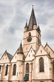 Evangelical cathedral Royalty Free Stock Photography