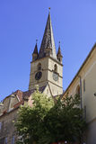 Evangelical Cathedral Sibiu Romania View 1 Stock Photography