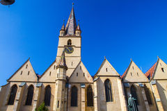 Evangelical Cathedral Sibiu Stock Image