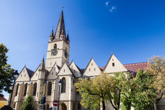 Evangelical Cathedral Sibiu Royalty Free Stock Photos