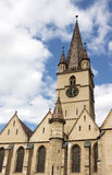 The Evangelical Cathedral in Sibiu Royalty Free Stock Photo
