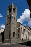 Evangelical church chiesa evangelica Valdese, Florence, Italy royalty free stock photography
