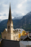 Evangelical Church of Hallstatt Royalty Free Stock Photo