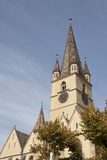 Evangelical Church of Sibiu � Romania Royalty Free Stock Images