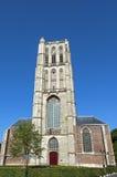 Evangelical Grote Kerk St. Catharijnekerk in Brielle Stock Images