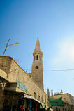 The Evangelical Lutheran Christmas Church. In Bethlehem Stock Image