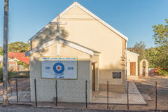 Evangelical Lutheran Church in Calitzdorp Royalty Free Stock Images