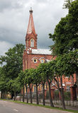 Evangelical-Lutheran Church in Pushkin Royalty Free Stock Photography