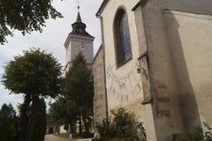 Free Evangelical-Lutheran Church St. Bartholomew And Solar Watch Biserica Sfantul Bartolomeu, Brasov, Romania Stock Photography - 128068402