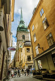 Evangelical Lutheran German Church in the Royalty Free Stock Photo