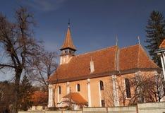 Evangelikal kyrka för Lutheran Arkivfoton