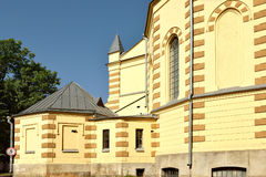 Evangelikal-Lutheran Stt domkyrkapaul peter petersburg russia s saint Royaltyfri Bild