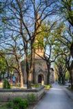 Evangelikala Christian Church av Augsburg religiösa studier i den Subotica staden, Serbien Royaltyfria Bilder