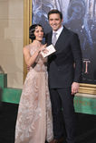 Evangeline Lilly et Lee Pace Images libres de droits